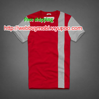 Free shipping,wholesale,2014 High quality Men round collar Tshirt,Fashion leisure,Round Collar Letters Casual T-shirt For Men