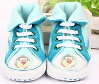 3pcs/lot, cotton baby first walker,high top baby shoes,soft anti-slip new born shoes