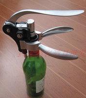 Free Shipping, Creative Kitchen Bar Counter Tools, Rabbit Shape Corkscrews Openors, Wine Bottle Opener  4- pcs Set, Zine Slloy