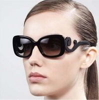 New Brand Women Chic Glasses Accessories Baroque Square Sunglasses UV400 PR Sunglasses Free Shippig