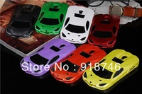 Fashion 7 Colors Hot Lamborghini Sports Racing Car Logo PC Case Cover for Samsung Galaxy I9500 S4 Free Shipping 1PC