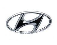1 PCS Car Motor Chrome 3D ABS-plastic Badge Emblem Sticker Hyundai Steering Wheel Hood Bumper Pillar  Spray Paint