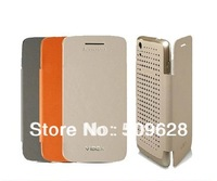 Stock SALE! 100% Original Lenovo S960 phone smart waken up hollow flip leather mesh case lenovo phone mesh protective covers