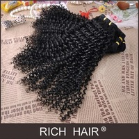 Free shipping Kinky Curl Natural Color Peruvian Virgin Hair Extension AAAAA Quality Virgin Hair Can Be Colored 8-30 inches