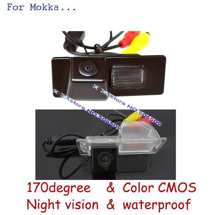 wireless wire Car Rear Camera For Opel Mokka Chevrolet Aveo Trailblazer Cruze h/b wagon Cadillas SRX CTS parking assistance(China (Mainland))