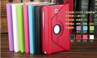 360 Degrees Rotating Stand Cover Case For Samsung Galaxy tab 3 8.0 T310 T311 Tablet Leather Case Free shipping