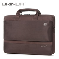 """BRINCH laptop bag computer bag 15"""" inch notebook bag with Inner tank red and purple color BW-203"""