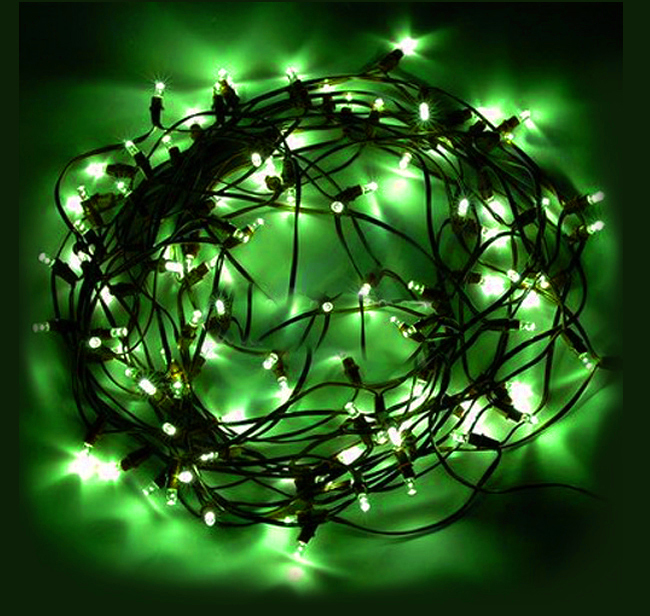 solar power 100 led 17m string fairy tree lights light for christmas. Black Bedroom Furniture Sets. Home Design Ideas