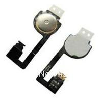 Free  shipping for  iPhone 4 4g Keypad menu joystick Cable Flex  home flex   Replacement parts 500pcs