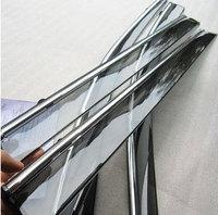Semitransparent Injection PC Window Visor Deflector Sun Shade Rain Guard Flexible Vent Peak Shield for Opel Astra / Antara