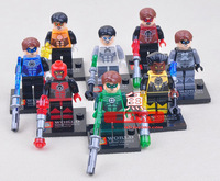 SY Building Blocks, Minifigures 8 pcs/lot, Super Hero, Star Wars, Green Lantern,Bricks Toys for Children,Free Shipping
