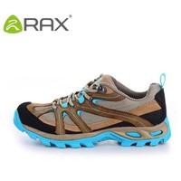 Rax Women Cowhide Suede Walking Shoes(Sapotos De Couro) Slip-resistant Shock Absorption Sports 40-5c267 Shoes EUR:36-39
