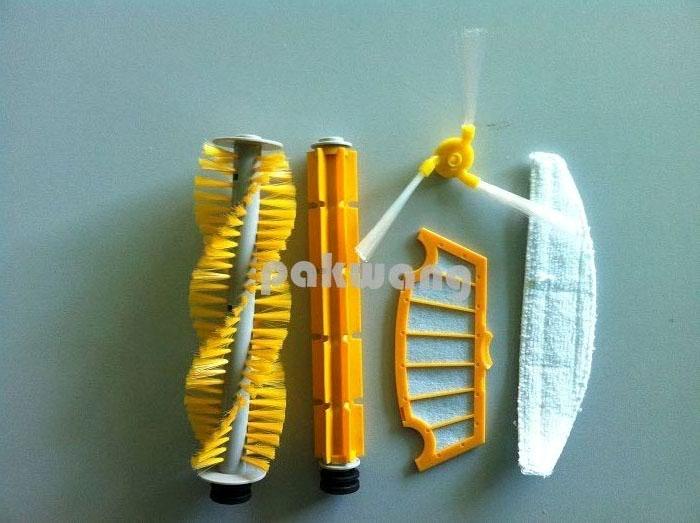SQ-A325 vacuum cleaner hair brush rubber brush side brush filter mop(China (Mainland))