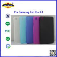 DHL Shippemnt 400pcs/Lot 2014 New Cases Matt  Skin TPU Gel Back Cover  for Samsung Galaxy Tab Pro 8.4