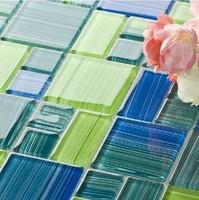 Glass  Mosaic Tiles, kitchen backsplash, bathroom, living room wall tiles