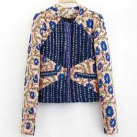 Fashion female short outerwear