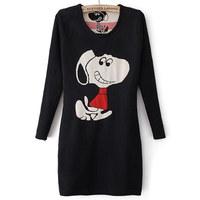 Fashion female basic shirt sweater