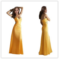 Free shipping sweetheart Evening Dress long floor length dresses SLD1569