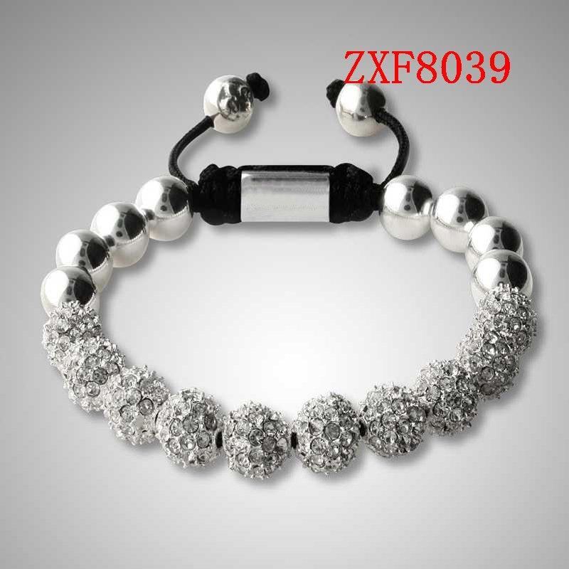 Free shipping fashion jewelry silver jewelry charm bracelet(China (Mainland))