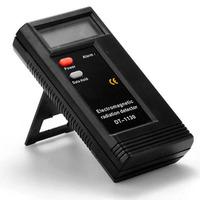 Fantastic ! New arrival Hot sale LCD Digital Electromagnetic Radiation Detector EMF Meter Tester Free Shipping &Wholesale Feida