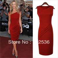 New Spring/Summer European and US fashion slim dress,sexy runway dress,party evening dress