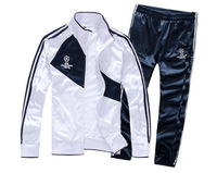 New 2014 Real Madrid Champions League Soccer Jacket Men Football Training Clothing Set Thailand Quality Futbol Tracksuit