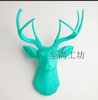 100% Genuine brand Lucky deer wall hanging wall decoration quality derlook muons fashion accessories decoration