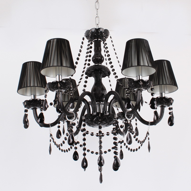 popular black bedroom chandelier from china best selling