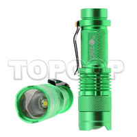 charger+battery+Authentic 300 lumens XML- Q5 zoom flashlight mini torch portable torch shocker hunting light