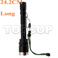 3800 Lumen CREE XML-T6 LED Rechargeable Zoomable 18650 Flashlight Torch shocker Battery+Charger(25cm LONG)