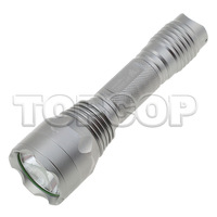 5pcs/lot,2000 LM Adjustable C10 Focus Super bright light LED Flashlight Torch Lamp shocker+Charger+Battery