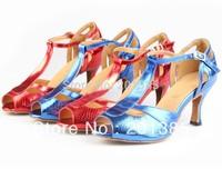 New Ladies Snakeskin Print Dance Shoes Latin Ballroom Shoes Salsa Dance Shoes Tango Shoes 3inch 34,35,36,37,38,39,40,41