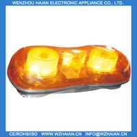 Free shipping+mini lightbar+with magnet base cigarette plug+amber color+12v TBG-603L1