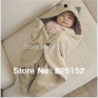 Free Shipping 1pc Kids Infant Newborn Baby Boys Girls Blanket Swaddle Sleeping Bag Sleepsack Pram stroller Wrap Bed Winter Warm