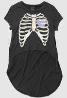 Drop dead itchy bones t-shirt bones female t-shirt