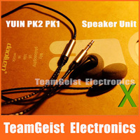 High Quality original pk1 150 ohm / 30 ohm / sr pro / B&O a8 speak Unit DIY stereo earphones mx500 headphones in-earphone