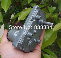 TSUKASA Metal gear motor 6v12V 24V DC gear motor high torque  low noise genrator motor Free shipping