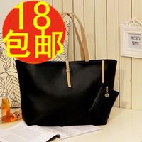 2013 autumn women's handbag zipper big bags women's fashion coin purse handbag shoulder bag  kippling pigi bag pasport ted