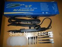 profesional hair extension iron  fusion connector kits  clips EU US AU plug