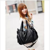 Bags  women's handbag personalized women's shoulder  messenger  fashion black big   print desigual 2014 fashion