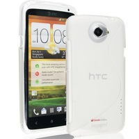 for HTC One X Case ,One X New Case ,2014 New Mobile Phone Bag, S Line Soft TPU Gel Skin Cover Case for HTC One X,1 pcs