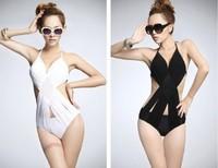 Women's vintage Swimwear One-piece Classic Swimsuit Monokini Bathing Suit