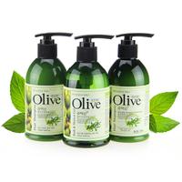 Co.e olive series bathroom personal care triangle set shampoo shower gel full-body whitening