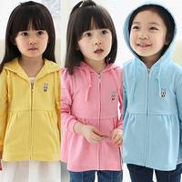 2014 spring baby girl's hoodies fashion sweatshirts zipper outerwear free shipping