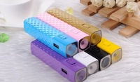 2600,mah  High Quality new fashion torch flash light battery charger For iPhone,Smartphone,Digital electronic