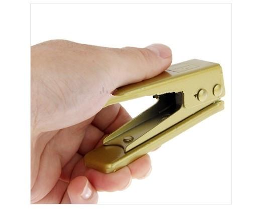 Nano Sim резак для iPhone 5 ( золотой )
