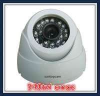 Hot selling cheapest  540tvl  cmos CCTV  Night Vision Surveillance intdoor Security Dome Camera free shipping