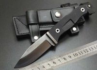 Bear Ultimate Survival Knife full Fixed Blade With Sheath & Fire Starter Hand guards