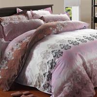 Bed linen/Sheet/Bedding/ High Quality Velvet Fabric, CVC-Cotton, 4 PCS Bedding sets /Bed Sheet/Wholesale/Free shipping/B003