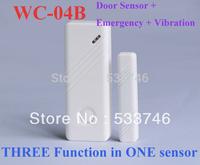 C365 Wireless Door Window Gap Sensor Detector 433MHz For Our Alarm System Emergency&Vibration